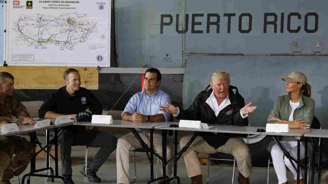 Trump declares thousands of deaths in Puerto Rico fake news