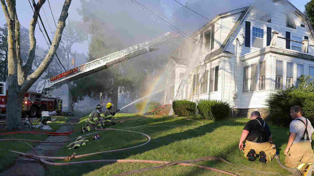 Dozens of homes on fire in MA after series of gas leaks