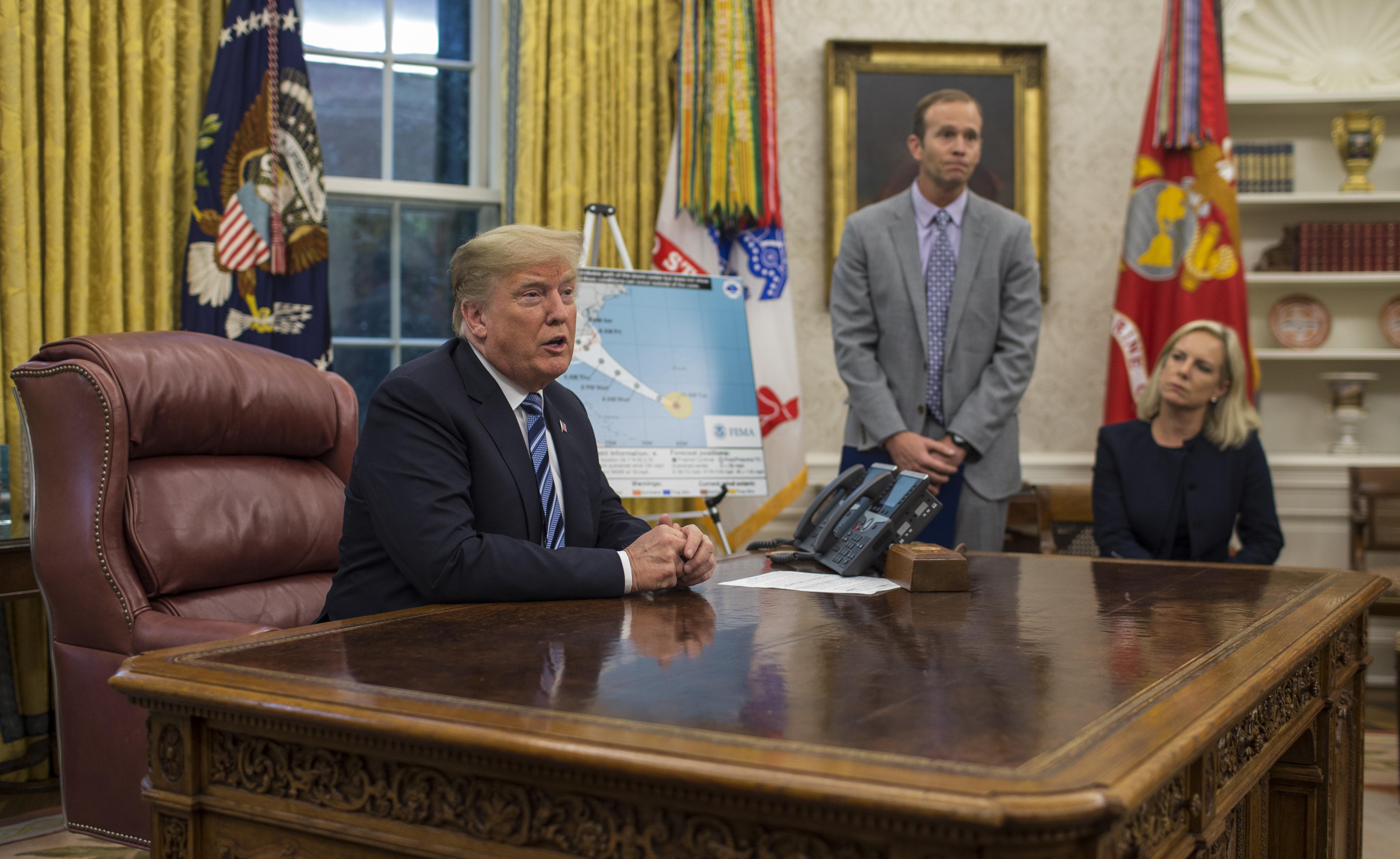 Hurricane Florence To Test FEMA, Trump Administration