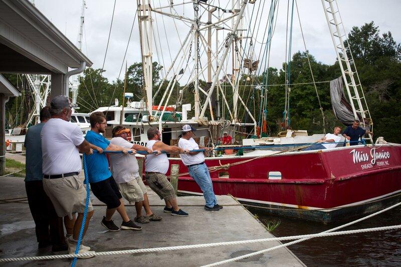 Hurricane Florence: Scenes From The Carolina Coast As Storm
