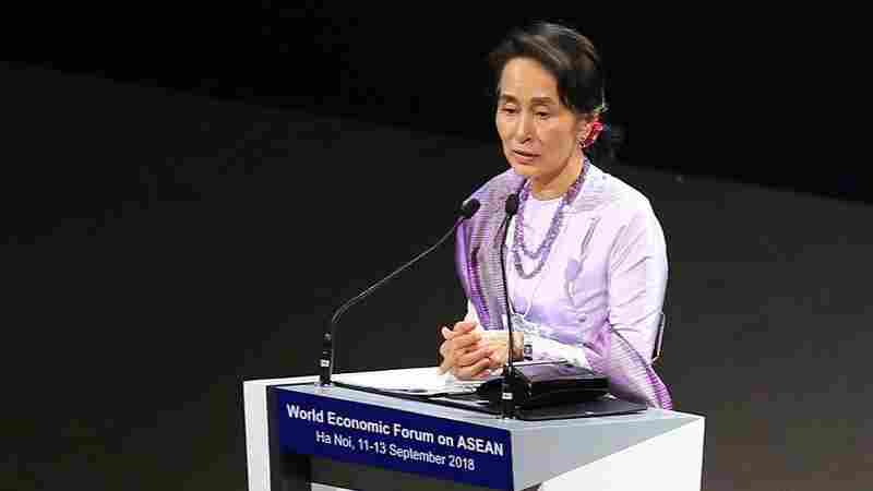 Myanmar's Suu Kyi: Rohingya Situation 'Could Have Been Handled Better'
