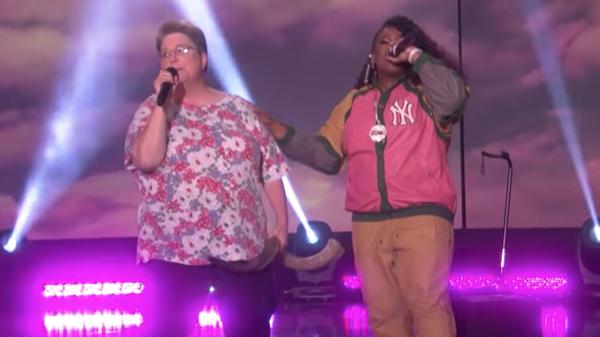 Watch: Missy Elliott Surprises  Funky White Sister  With  Work It  Duet