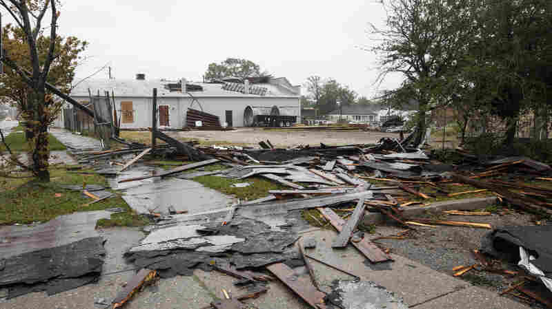 Tropical Storm Florence, 'An Uninvited Brute,' Brings Floods, And At Least 5 Deaths