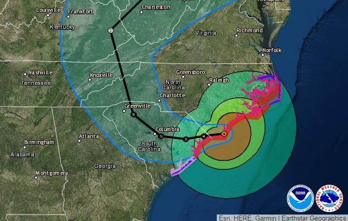 Florence, a wet and unwanted visitor, besieges Carolinas