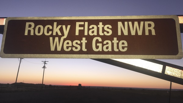 Rocky Flats National Wildlife Refuge sits on land surrounding the famous Rocky Flats Nuclear Reservation that produced nuclear weapons during the Cold War.