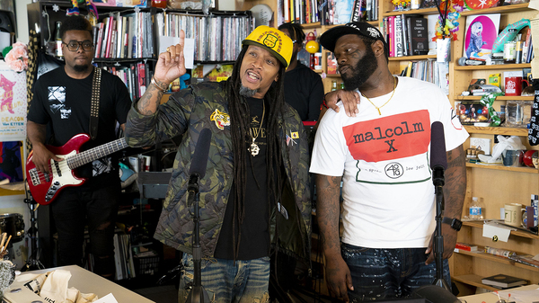 Smif-N-Wessun perform a Tiny Desk Concert on June 8, 2018.