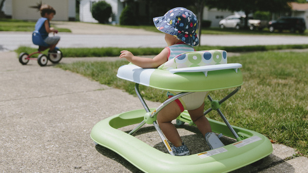 Skull fractures, concussions and broken bones are common injuries when children not yet able to walk use infant walkers and fall down stairs.