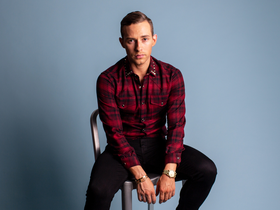 This year, figure skater Adam Rippon became the first openly gay man to compete for the U.S. in the Winter Olympics. His Olympic journey may be over, but he remains a steadfast representative for the LGBTQ community. (Becky Harlan/NPR)