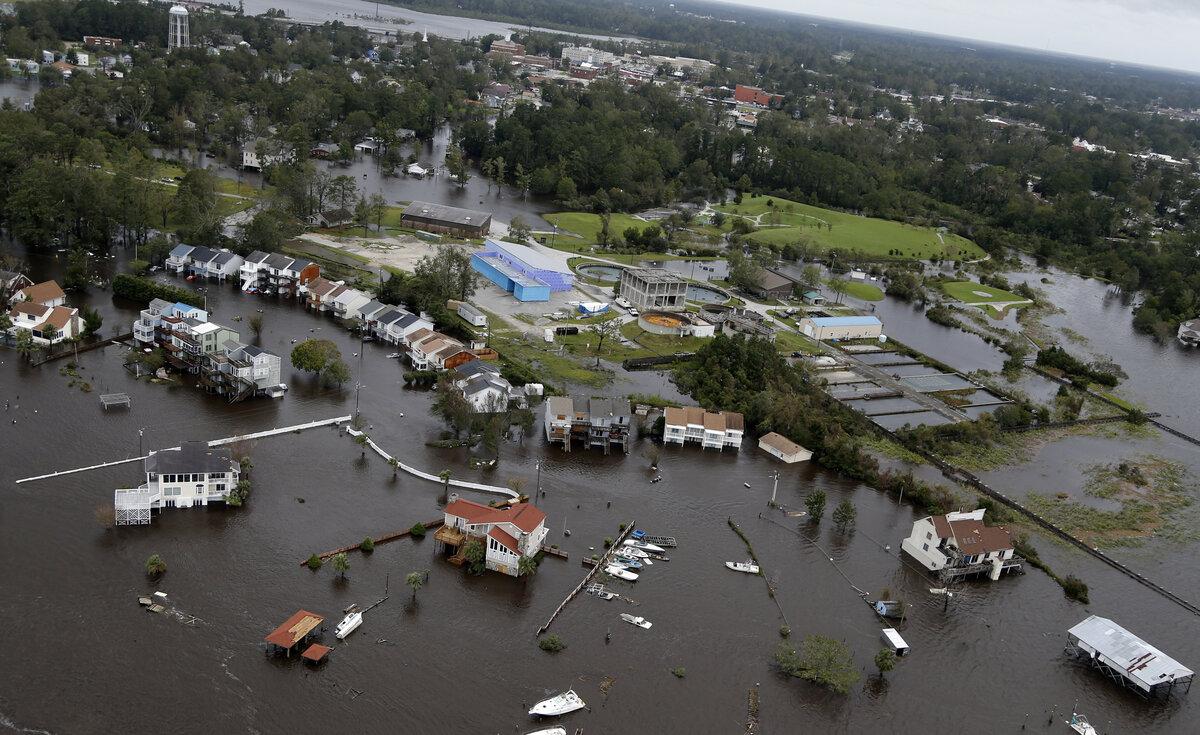 Waters rising in NC
