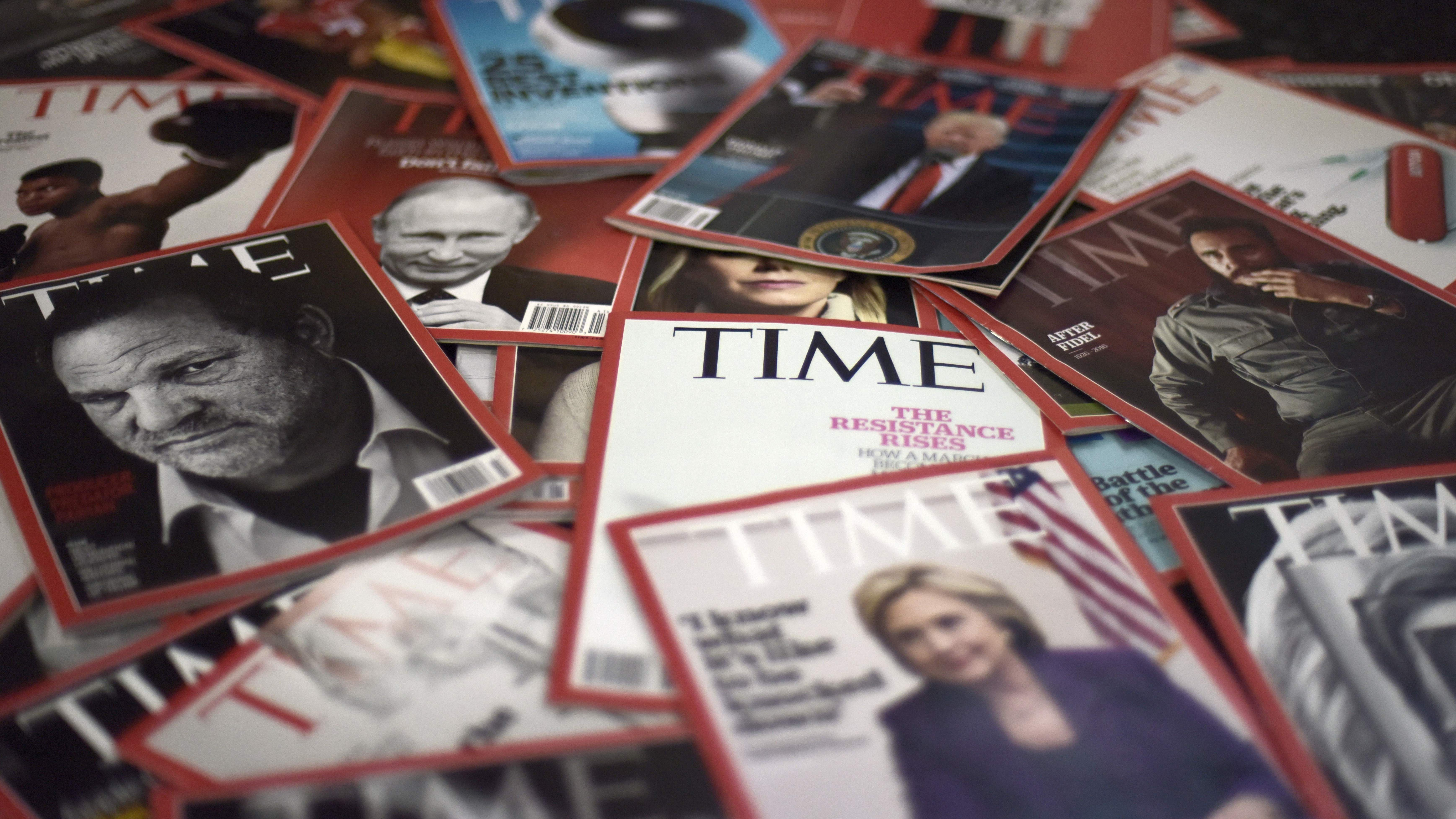 Time magazine to be sold to Salesforce billionaire Marc Benioff