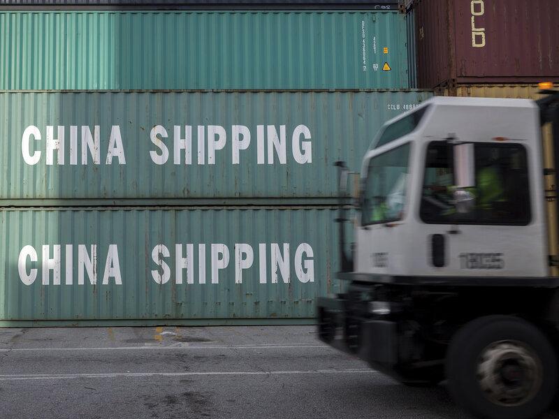 Trump Sets Tariffs On $200 Billion In Imports From China : NPR