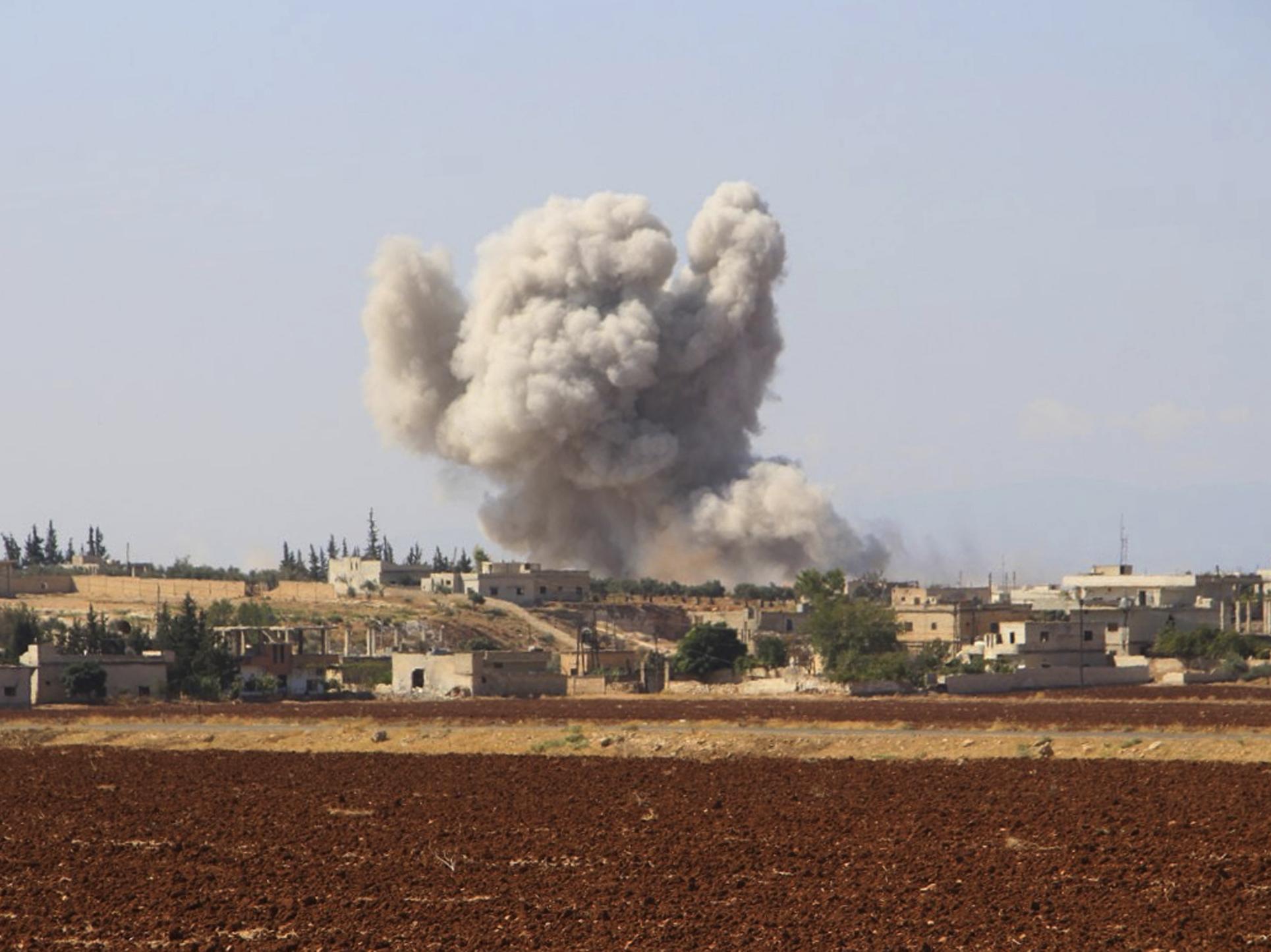 Erdogan, Putin agree to de-militarised zone in Syria's Idlib