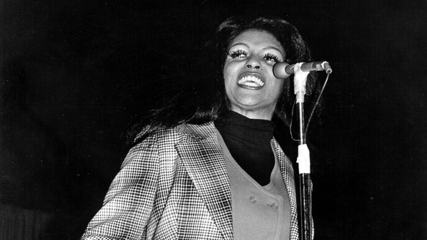 Lyn Collins, pictured here in 1970, inspired the chorus to Rob Base and DJ E-Z Rock