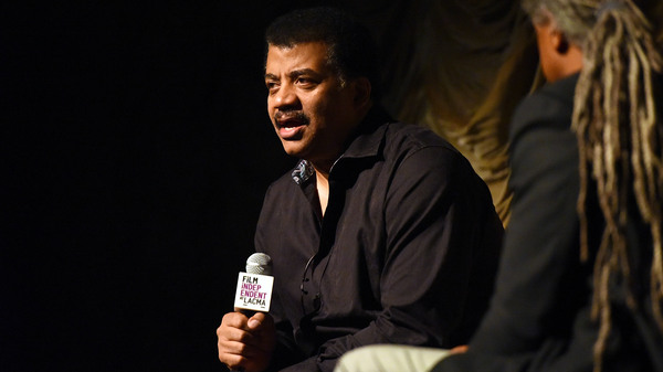 Neil deGrasse Tyson attends Film Independent at LACMA presents StarTalk — A Conversation with Astrophysicist Neil deGrasse Tyson, on June 5 in Los Angeles.