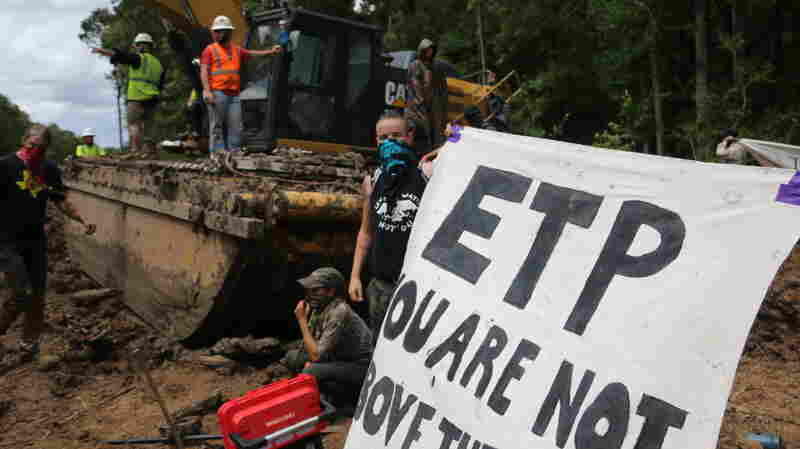 Tougher Laws On Pipeline Protests Face Test In Louisiana