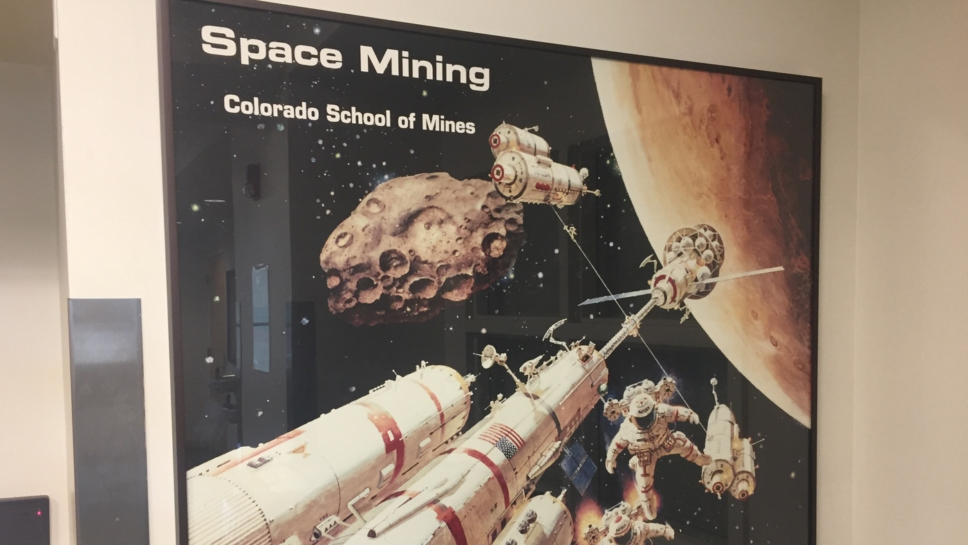 Space Mining — Learning How To Fuel An Interplanetary Gas Station : NPR