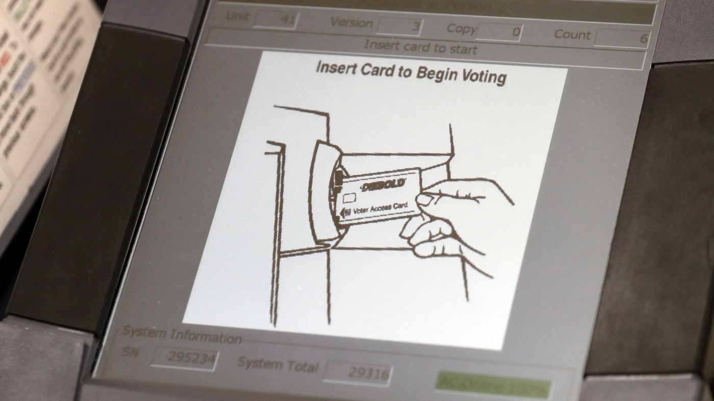 Georgia Will Use Electronic Voting Machines This Fall As Paper How To Read Circuit Diagrams Tab Hobby Electronics Series Ballot Case Falters Npr