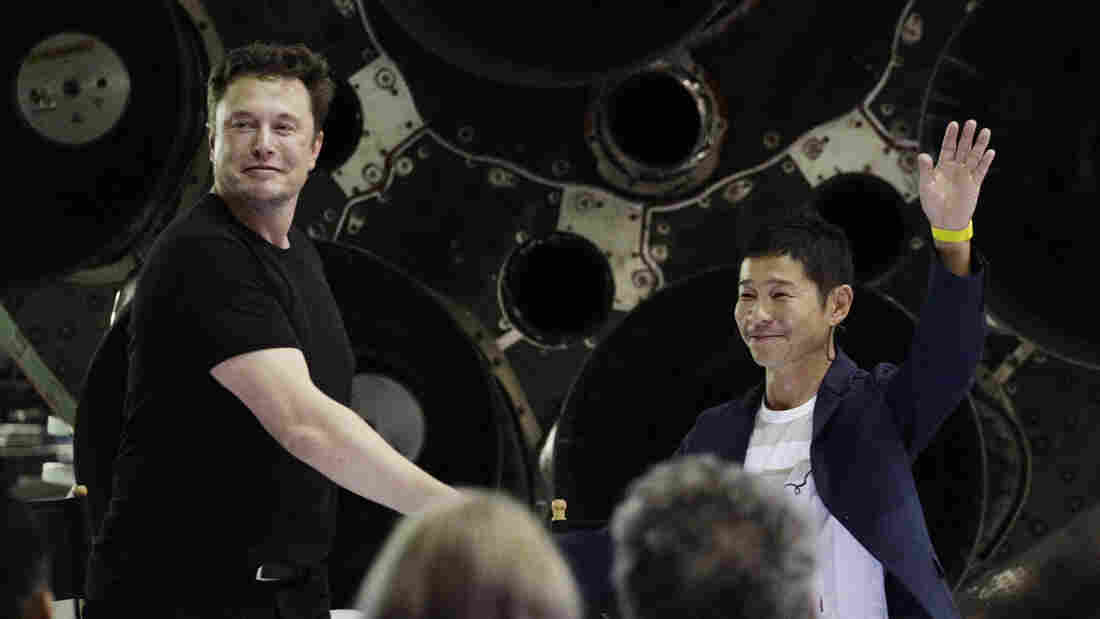 Elon Musk reveals the first passenger SpaceX will send around the moon