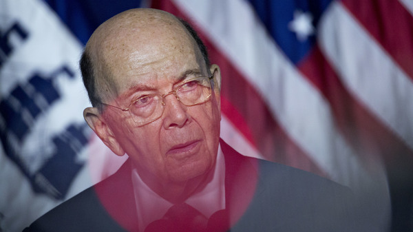 Commerce Secretary Wilbur Ross speaks during a July event in Washington, D.C. Ross, who oversees the Census Bureau, approved adding a question about U.S. citizenship status to the 2020 census.