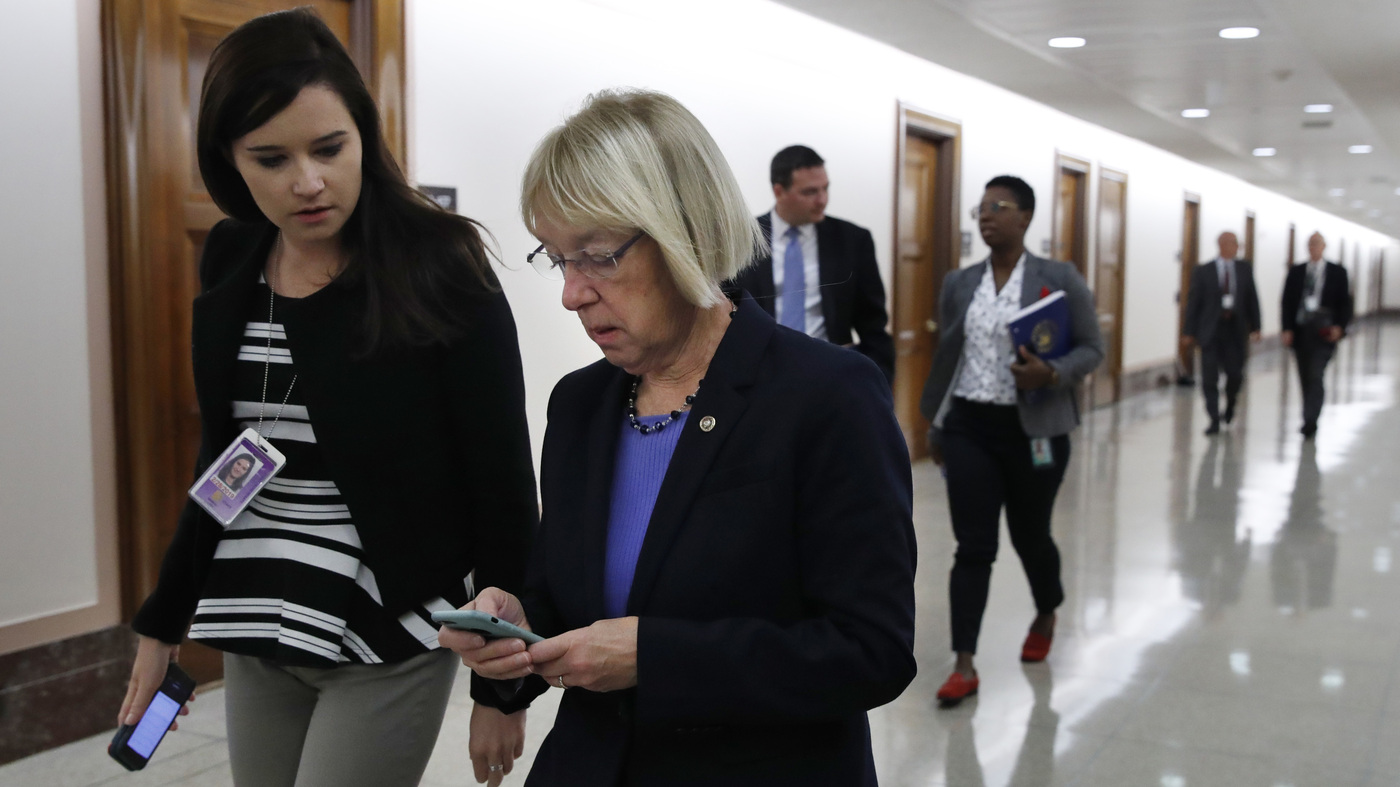 Google Warned Senators, Aides Of Hacking Attempts On Personal Emails : NPR