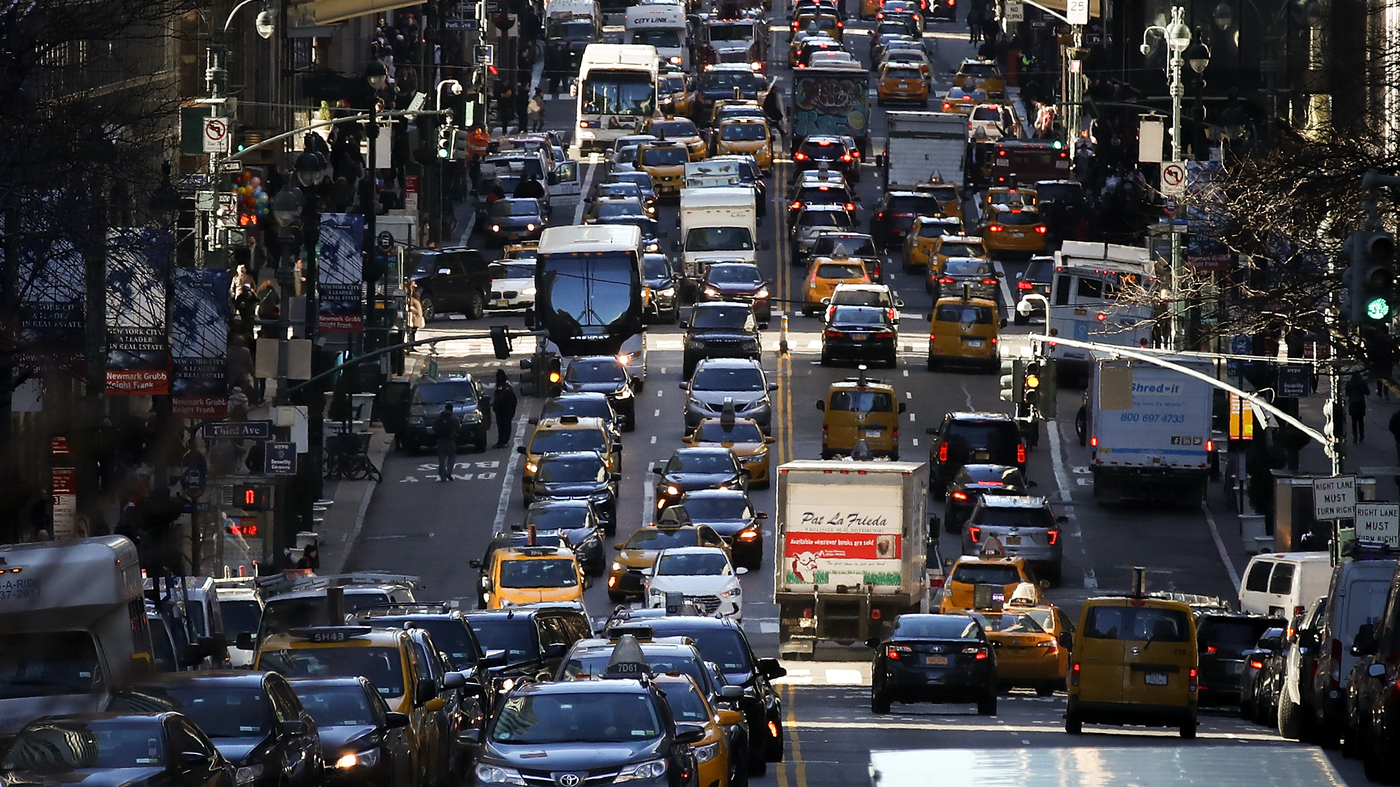 Stuck In Traffic? You're Not Alone. New Data Show American Commute Times Are Longer : NPR