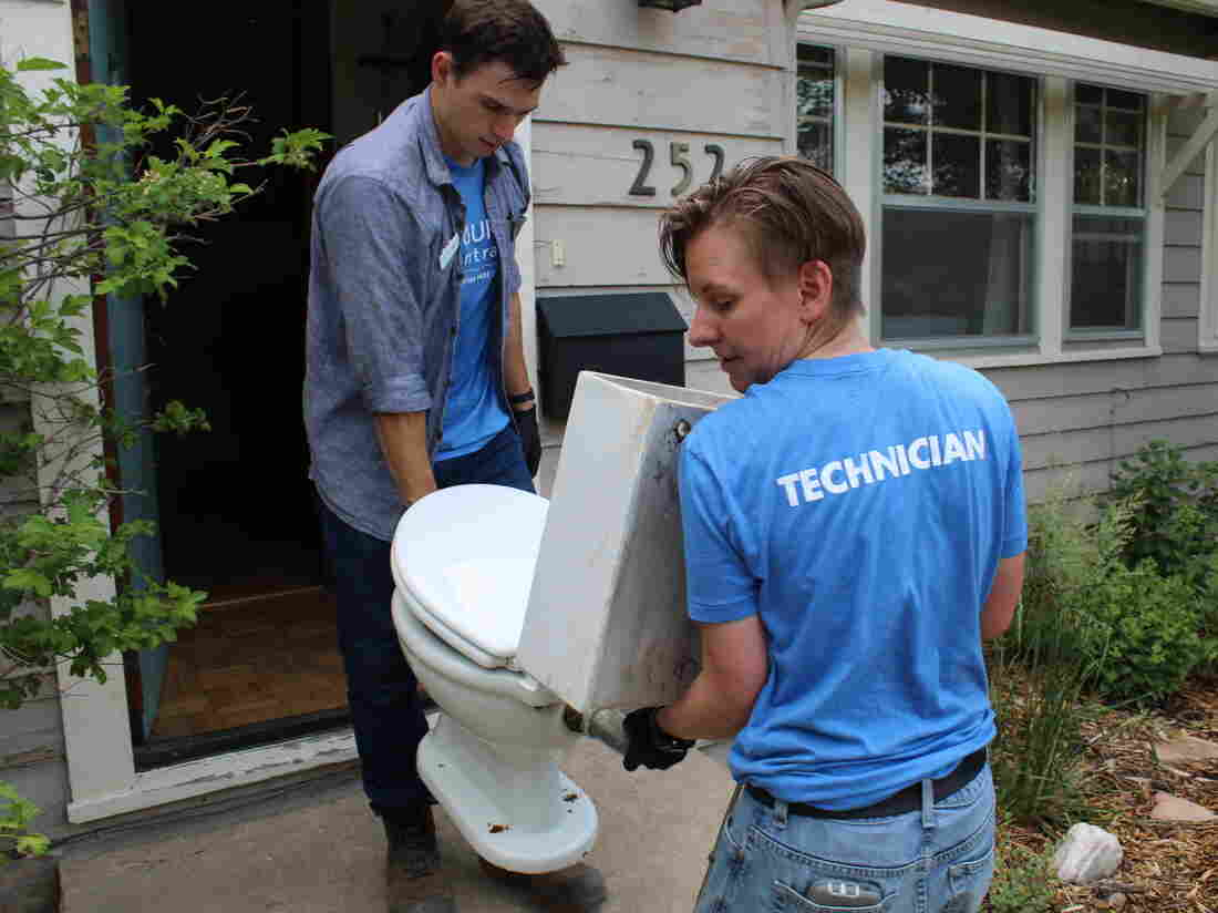 As West Grows, Water Use Declines Thanks To Better Toilets : NPR