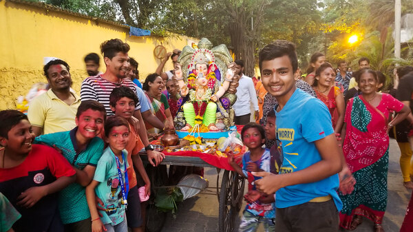 Indians Are Partying And Praying For Elephant-Headed God Ganesh