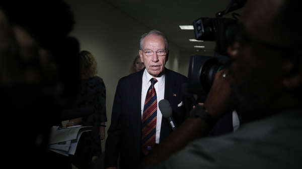 Senate Judiciary Chairman Chuck Grassley, R-Iowa, has requested a response from Christine Blasey Ford about whether she will testify before the committee.
