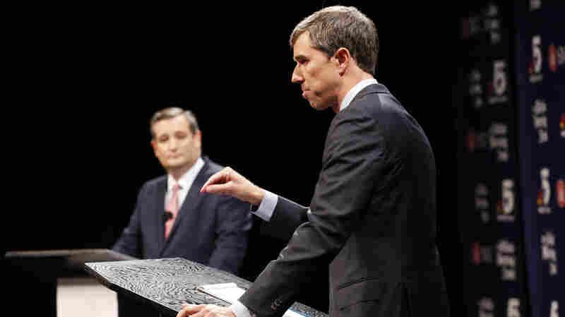 Surprisingly Close Texas Senate Race Sparks Testy Debate For Cruz, O'Rourke