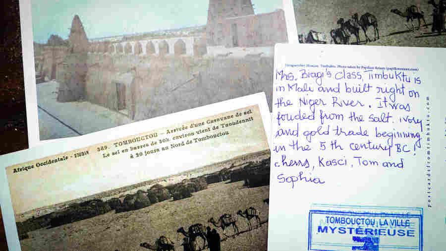 Why It's Easy — And Hard — To Get A Postcard All The Way From Timbuktu
