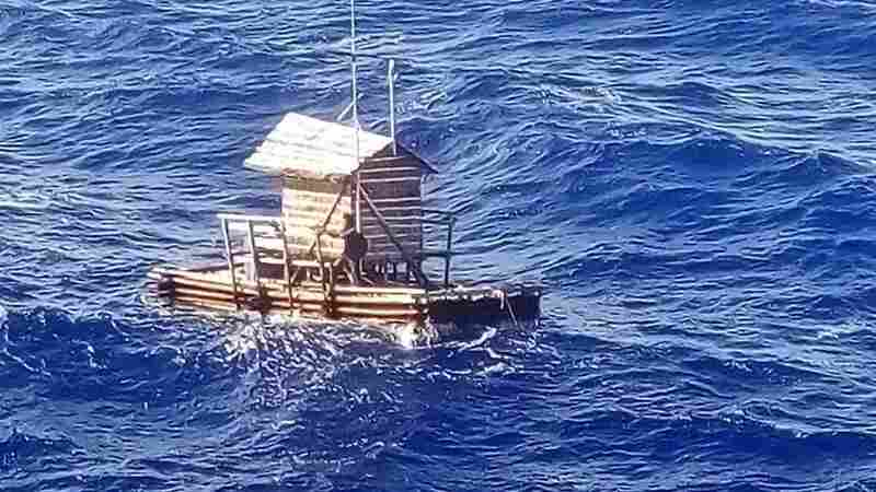 19-Year-Old Survives 49 Days At Sea After Floating Hut Drifts To Guam