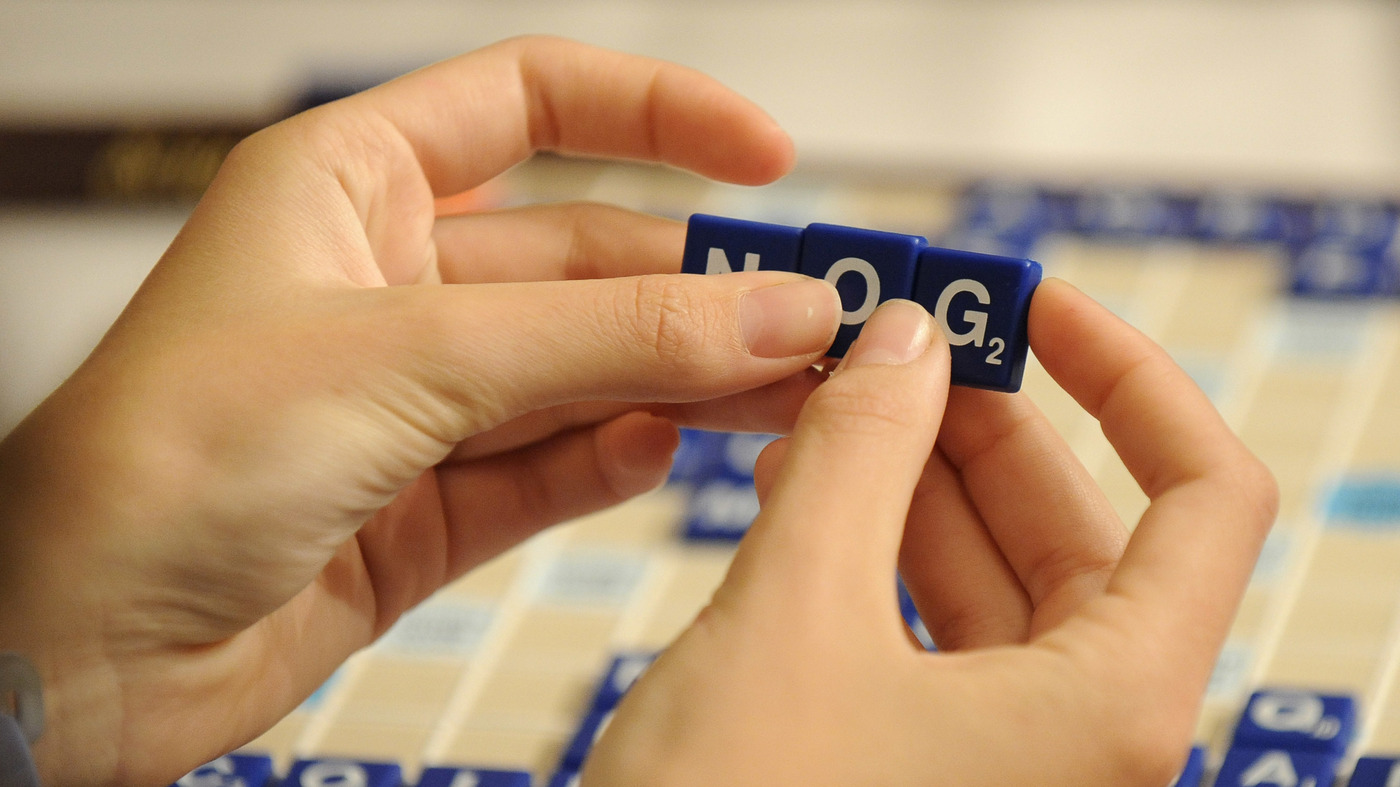 New Scrabble Dictionary For A New Generation : NPR