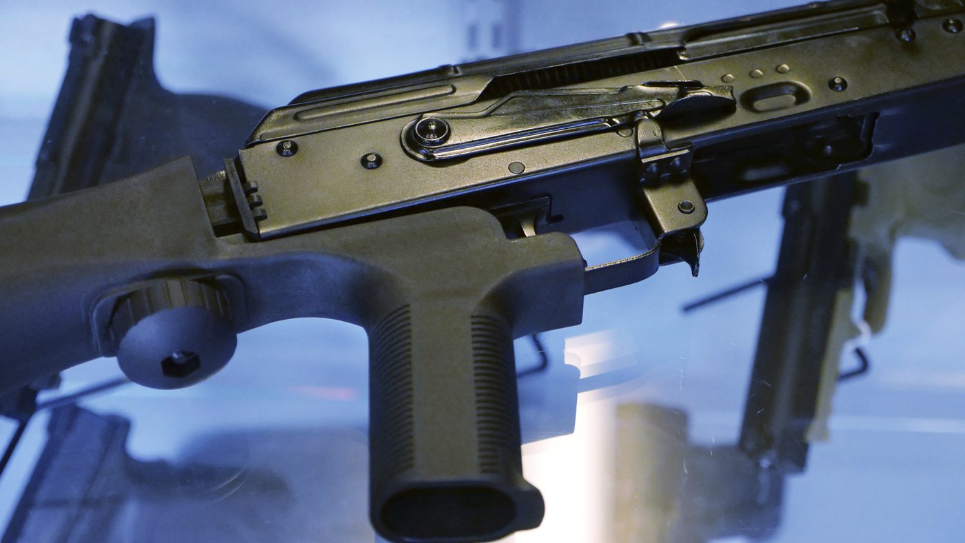 The Politics of Bump Stocks, One Year After Las Vegas Shooting : NPR