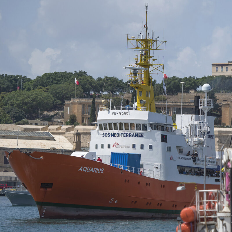Italy Wants Rescue Ship Seized, Accuses Doctors Without Borders Of