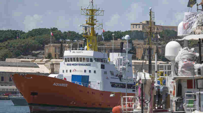 Last Private Rescue Ship On Deadly Mediterranean Migrant Route Loses Its Registration