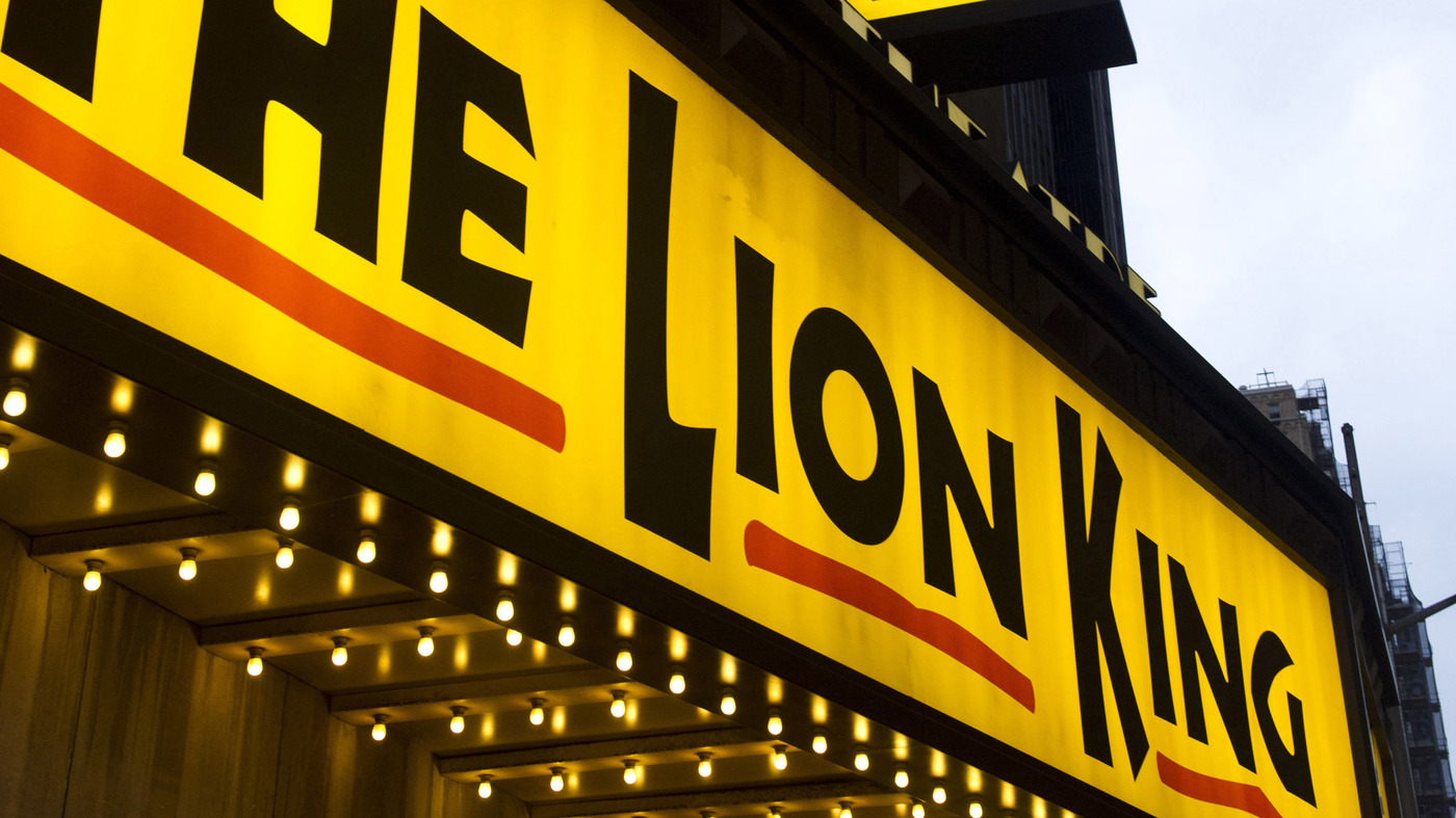 'Lion King' Puppet Technician Arrested After Allegedly Printing 3D Gun At Theater : NPR