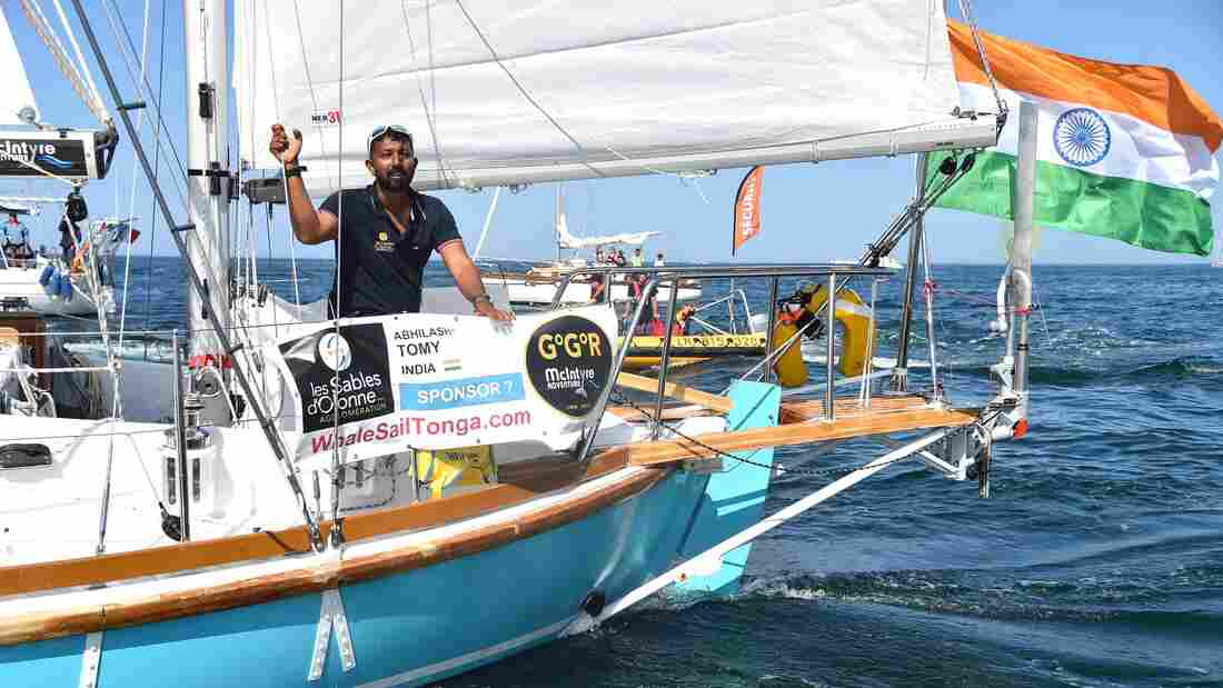 Injured Indian Navy commander Abhilash Tomy rescued three days after SOS