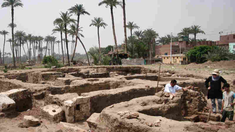 Archaeologists Discover 'Huge' Ancient Building In Egypt