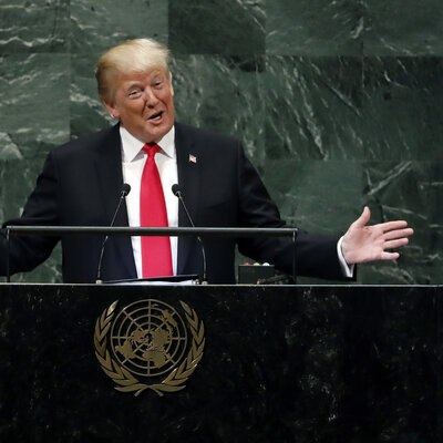 Trump Shrugs Off Laughter At U.N.: 'Didn't Expect That Reaction, But That's OK'