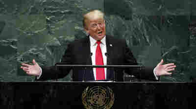 Trump Shrugs Off Laughter At U.N.: 'Didn't Expect That Reaction, But That's OK.'