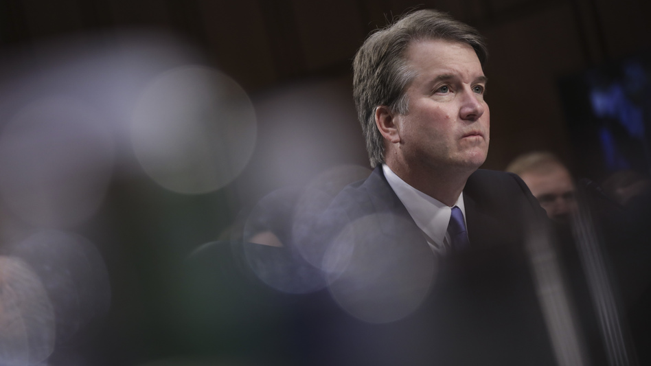 Supreme Court nominee Brett Kavanaugh denied a report from a woman who said he exposed himself to her during a party while the two attended Yale. (Drew Angerer/Getty Images)