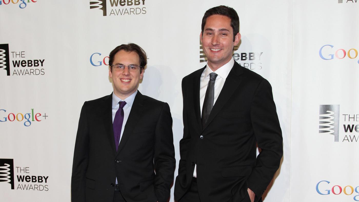 Instagram Co-Founders To Step Down : NPR