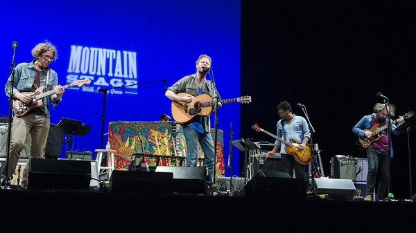 Hiss Golden Messenger On Mountain Stage