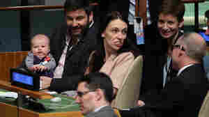 New Zealand Prime Minister's Baby Makes History At U.N. General Assembly