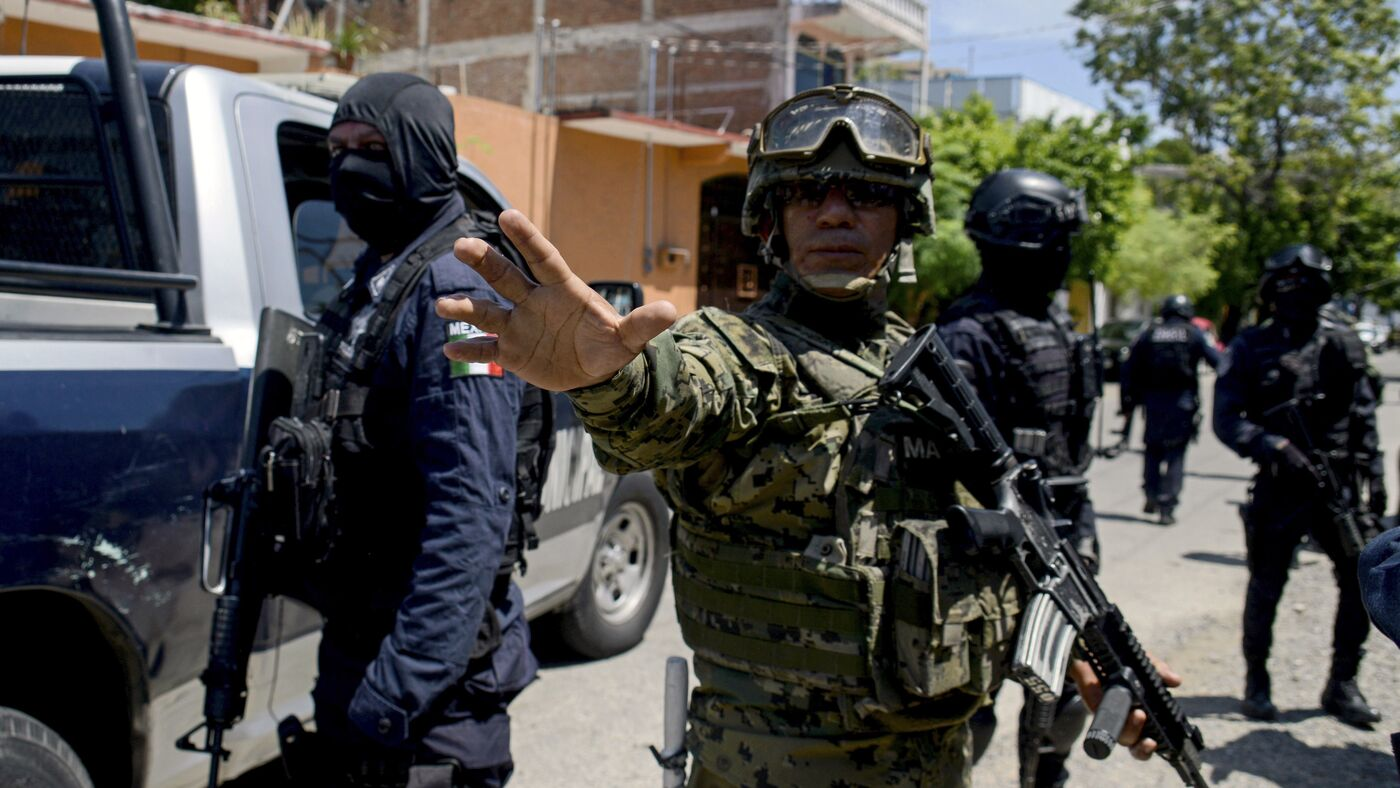 Mexican Authorities Disarm Acapulco Police Amid Infiltration Concerns By Drug Gangs : NPR