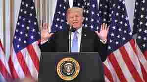 Trump Defends Kavanaugh But Says He'll Watch Testimony Thursday