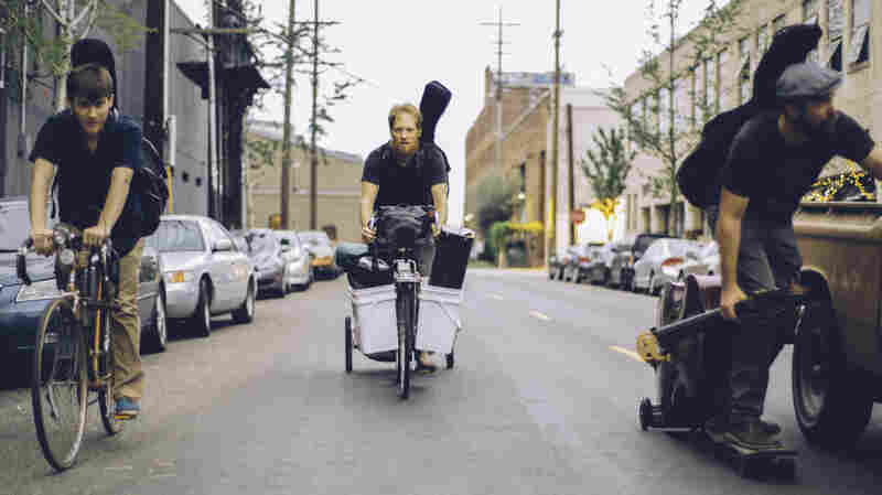 One Band's Key Instrument: Wheels