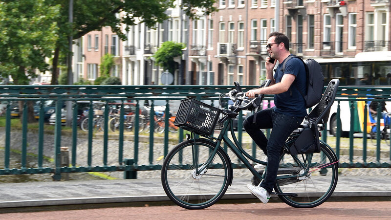 2d7ee19cf Netherlands Proposes Legislation To Ban Use Of Phones On Bicycles   NPR