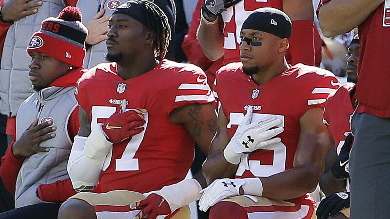 online retailer 2adfb ce6c0 Eric Reid, Who Knelt With Colin Kaepernick, Lands New NFL ...