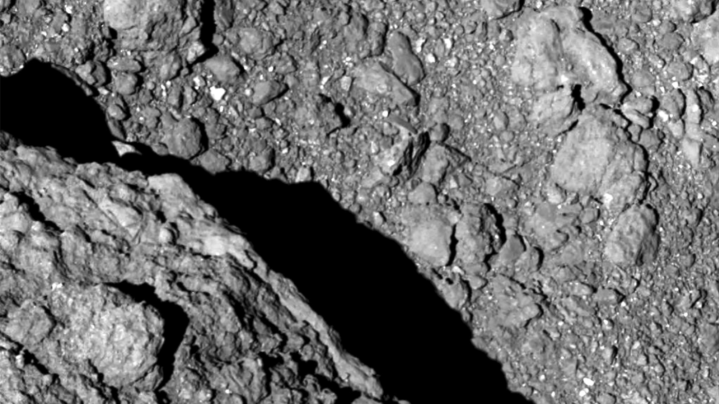 Image result for We Just Received More Mind-Melting Photos And a Video From The Surface of an Asteroid